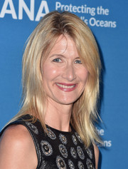 Laura Dern attended the Concert for Our Oceans wearing her hair in edgy layers.