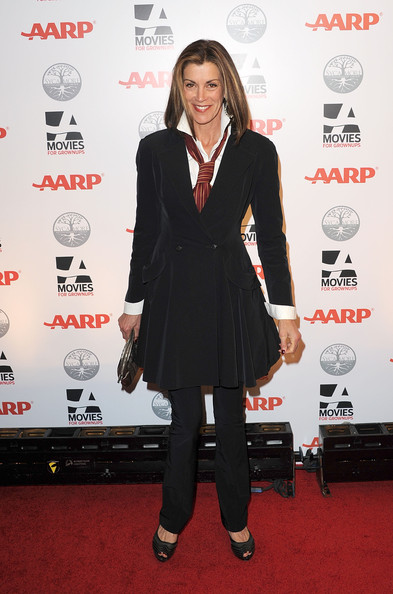 More Pics of Wendie Malick Peep Toe Pumps (1 of 7) - Wendie Malick Lookbook - StyleBistro