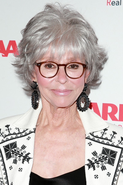 Rita Moreno's Layered Razor Cut