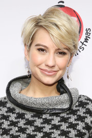 Chelsea Kane rocked a tousled razor cut at the '25 Days of Christmas' celebration.