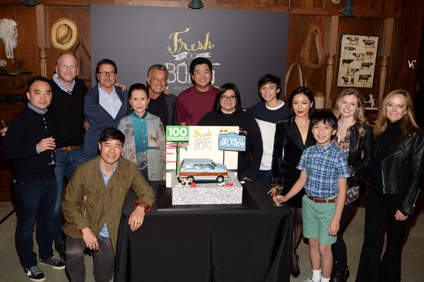 More Pics of Constance Wu Pumps (1 of 18) - Heels Lookbook - StyleBistro [episode,episode,social group,event,youth,team,community,student,melvin mar,lucille soong,randall park,hudson yang,ian chen,fresh off the boat,abc celebrates,celebration]