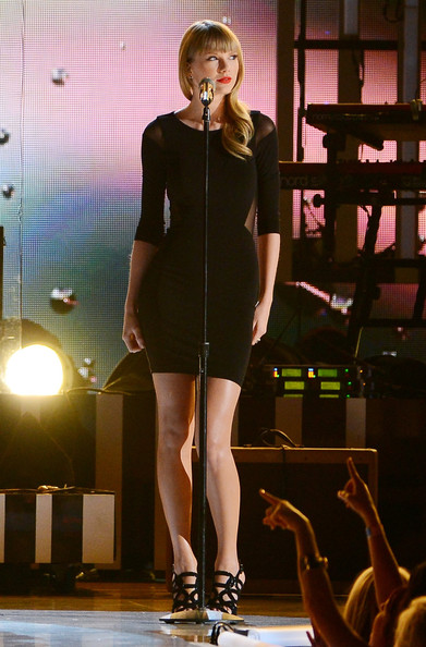 More Pics of Taylor Swift Little Black Dress (2 of 25) - Taylor Swift Lookbook - StyleBistro