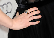 Winona Ryder showed off a stunning diamond ring while attending the AFI Fest. It was the perfect match for her elegant tulle dress.