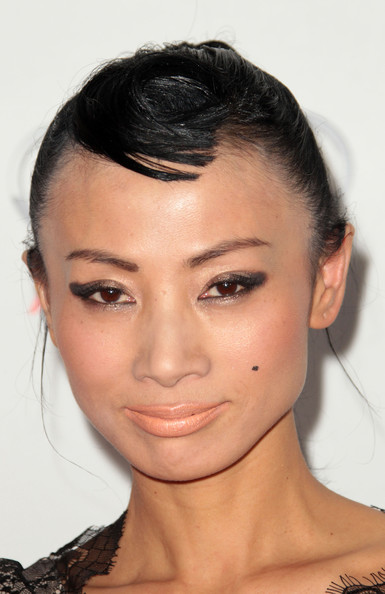 Bai Ling wore a creamy nude lipstick with a soft satin finish at AFI FEST 2011