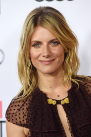 Melanie Laurent sported a beach-chic hairstyle at the AFI Fest opening night premiere of 'By the Sea.'