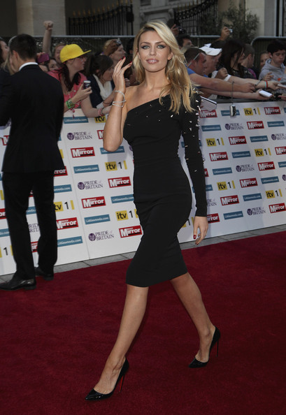 Abbey Clancy One Shoulder Dress