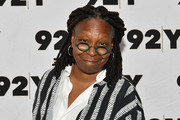 Whoopi Goldberg wore her signature dreadlocks while attending an event at 92nd Street Y.