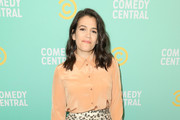 Abbi Jacobson Lace-Up Heels
