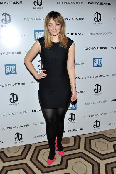 Abby Elliott Little Black Dress