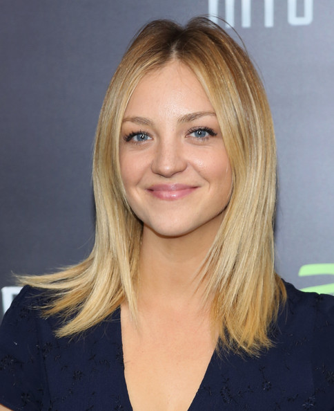 Abby Elliott Long Straight Cut