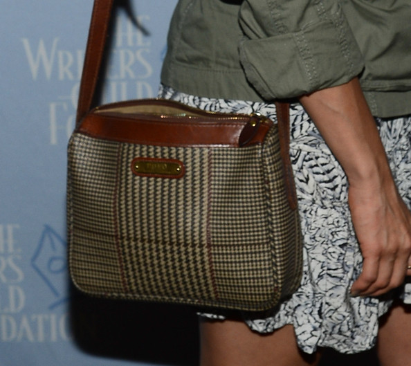 Abigail Spencer Printed Shoulder Bag
