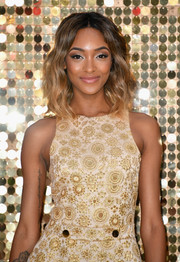 Jourdan Dunn looked youthful and pretty wearing these shoulder-length waves at the world premiere of 'Absolutely Fabulous: The Movie.'