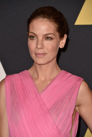 Michelle Monaghan opted for a low-key bun when she attended the Governors Awards.
