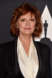 Susan Sarandon kept it classic with this short curly 'do at the Governors Awards.