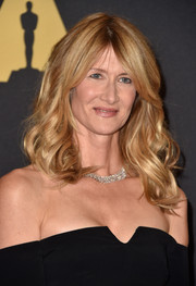 Laura Dern wore her hair in boho-chic, high-volume waves during the Governors Awards.