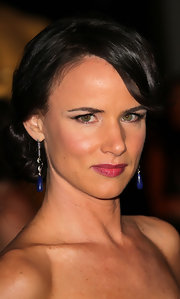 Juliette Lewis showed off her elegant bun while attending the Second Annual Governors Awards.