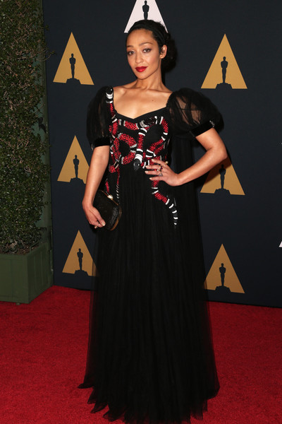 Ruth Negga in Gucci