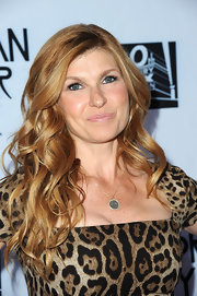 Connie Britton wore her hair in cascading curls while attending a screening of 'American Horror Story.'