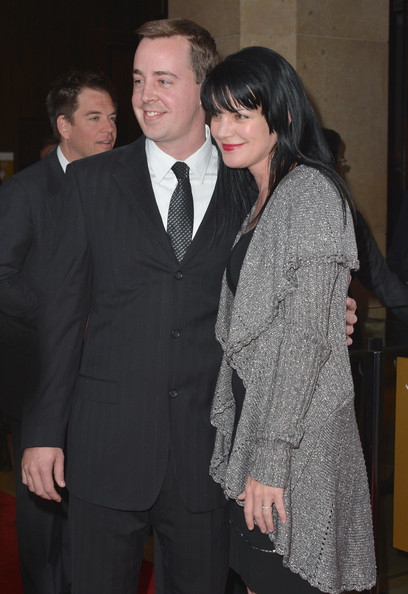 More Pics of Pauley Perrette Long Straight Cut with Bangs (1 of 7) - Pauley Perrette Lookbook - StyleBistro