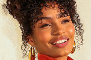 Yara Shahidi Pinned Up Ringlets