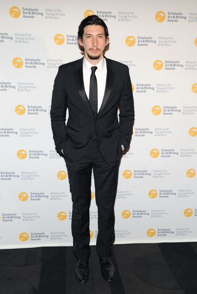 Adam Driver Men's Suit [alliance for young artists writers benefit,suit,formal wear,clothing,tuxedo,white-collar worker,yellow,pantsuit,premiere,outerwear,event,new york city,carnegie hall,adam driver]