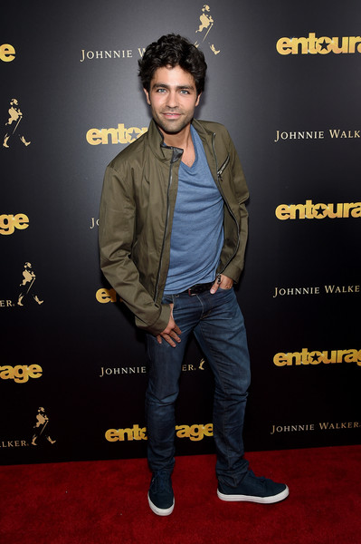 Adrian Grenier Canvas Sneakers