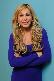 Adrienne Maloof's long wavy hair looked downright gorgeous during her 2011 Sundance portrait session.
