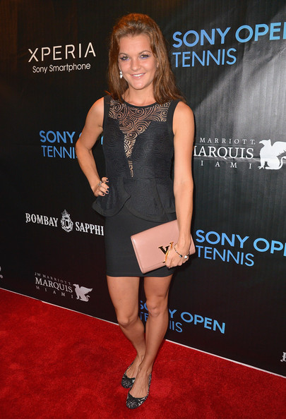 Agnieszka Radwanska Little Black Dress