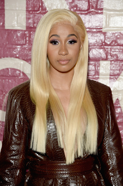 Cardi B showed off a silken straight 'do at the Airbnb New York City Experiences launch.