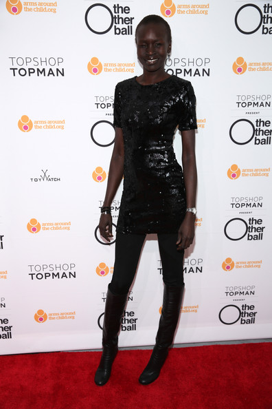 Alek Wek Shoes
