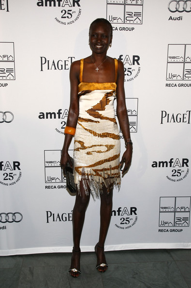 Alek Wek Cocktail Dress