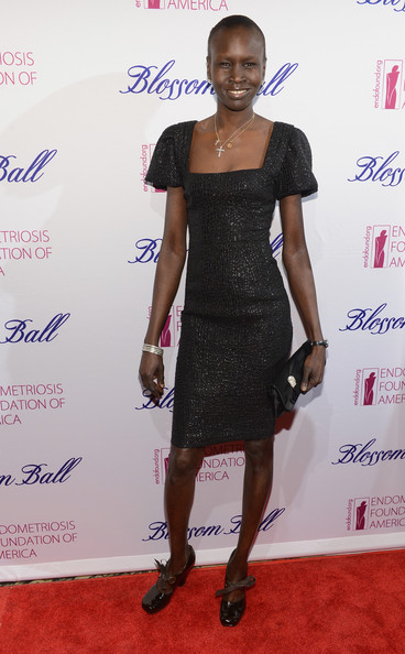 Alek Wek Pumps