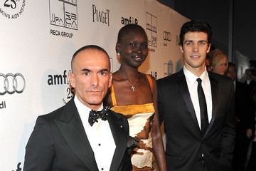 Alek Wek Roberto Bolle Reca Group For amfAR