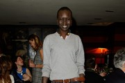 Alek Wek V-neck Sweater