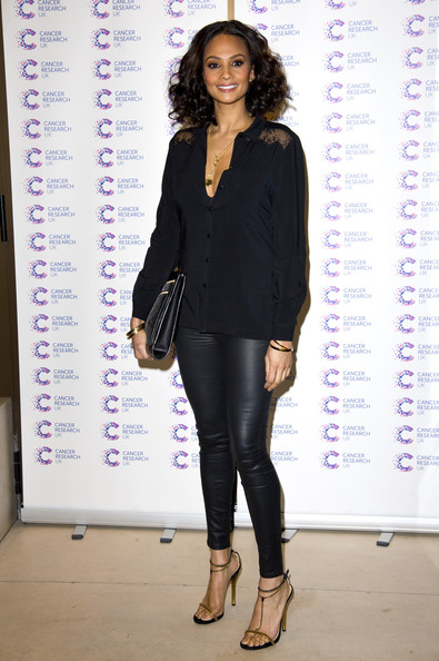 Alesha Dixon Leather Pants