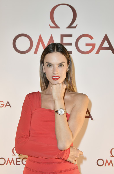 Alessandra Ambrosio Gold Quartz Watch