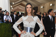 Alessandra Ambrosio Form-Fitting Dress