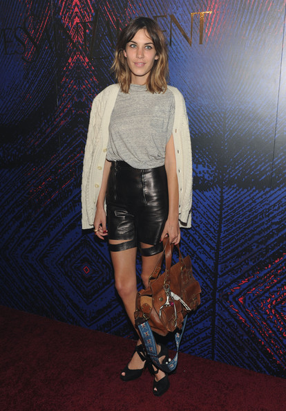 Alexa Chung High-Waisted Shorts