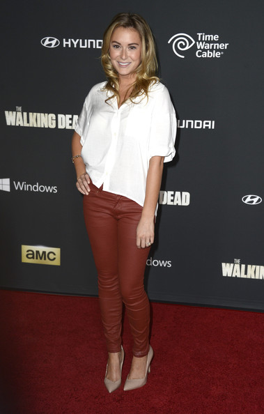 Alexa Vega Button Down Shirt