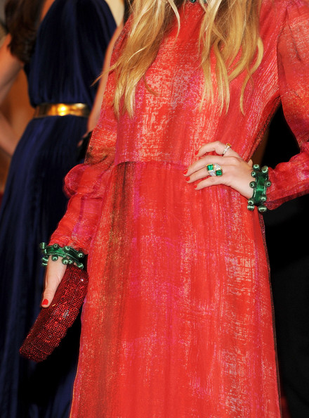 More Pics of Mary-Kate Olsen Cocktail Ring  (3 of 9) - Mary-Kate Olsen Lookbook - StyleBistro