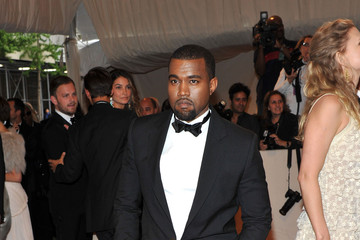 Kanye West Debuts Tory Burch Menswear in a Tuxedo at the 2011 Met Gala