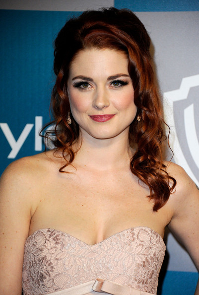 Alexandra Breckenridge Body Art