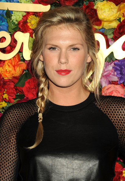 Alexandra Richards Long Braided Hairstyle