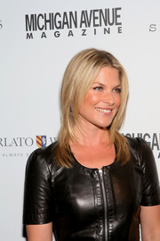 Ali Larter looked trendy with her shoulder-length layered cut during the Michigan Avenue September issue celebration.