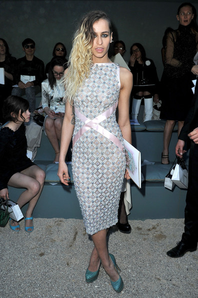 Alice Dellal Beaded Dress