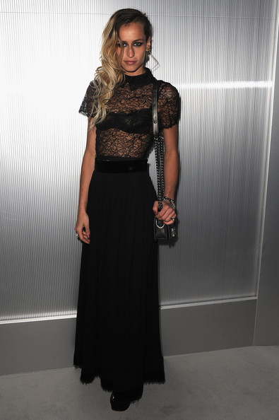 Alice Dellal Evening Dress