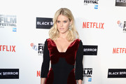 Alice Eve Form-Fitting Dress