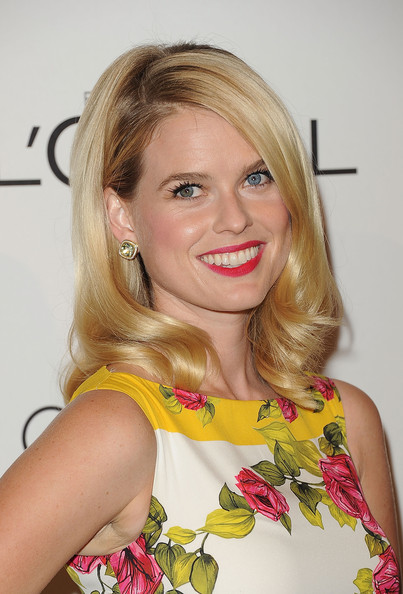 Alice Eve Long Side Part