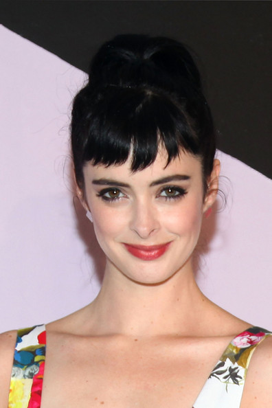More Pics of Krysten Ritter Print Dress (4 of 5) - Krysten Ritter Lookbook - StyleBistro