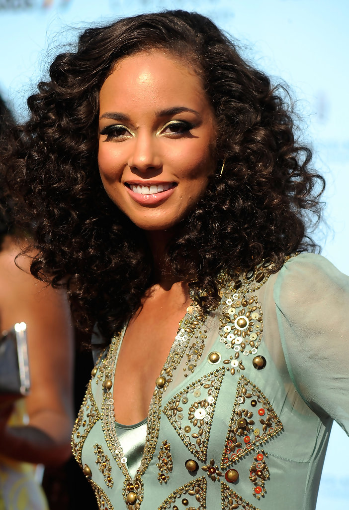Alicia keys real hair length